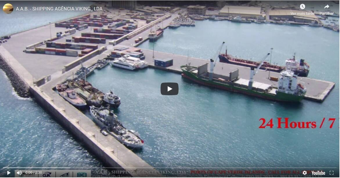 Port Operations Bunker Operations Shore Excursions Mindelo Praia Porto Novo video gallery.